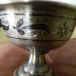 Серебрянная чаша ручной работы, Новосибирск