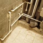 Замена водопроводных труб в квартире  (разводка), Новосибирск