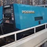 Аренда японского малошумного компрессора 1-4 отбойных молотка, Новосибирск