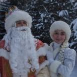 Дедушка Мороз и Снегурочка праздник дома, Поющие, 14 лет опыт!, Новосибирск