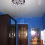Натяжной потолок в спальне 12 м.кв (шт.), Новосибирск