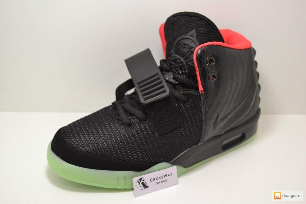 Кроссовки Nike Air Yeezy II, черного цвета фото, Цена - 2600.00 руб.,  Новосибирск - НГС.ОБЪЯВЛЕНИЯ 6ff7cb6bb4e
