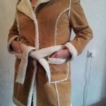 продам пальто кожаное новое, Новосибирск