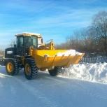 Уборка снега в Первомайском и Советском районах, Новосибирск
