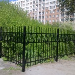 Забор сварной с монтажом (метр кв.), Новосибирск