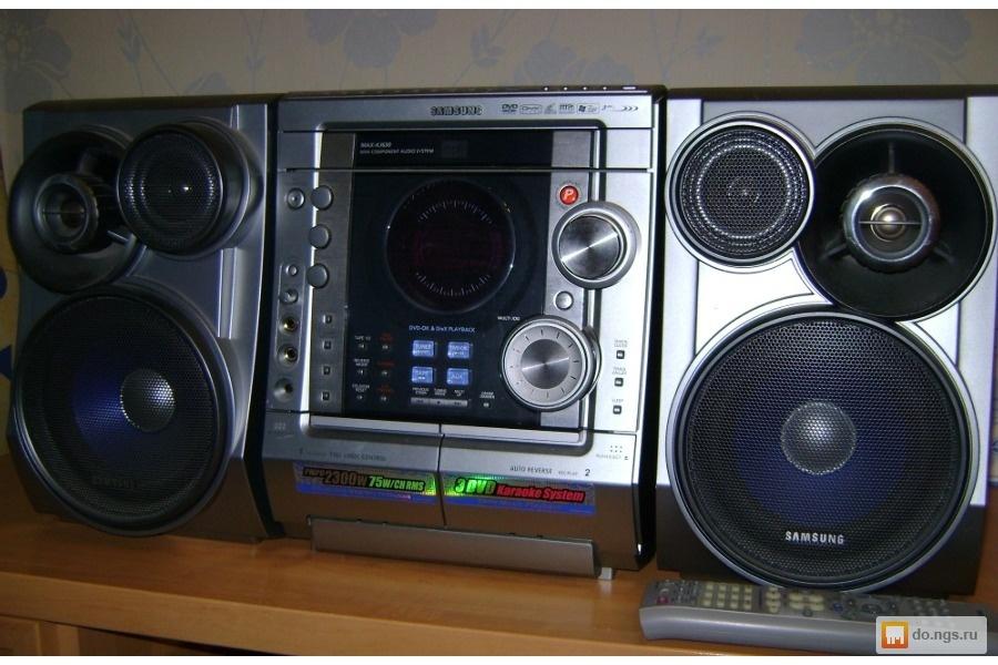 Музыкальный центр Samsung MAX-KJ630 Karaoke Цена - 3999.00 руб.,  Новосибирск - НГС.ОБЪЯВЛЕНИЯ eb7acddc92f