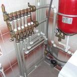отопление,монтаж отопления,проект отопления,коллекторы отопления,лично, Новосибирск