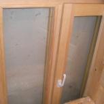 Деревянное окно производство стеклопакет 16 мм  стекло+ уплотнители М2, Новосибирск