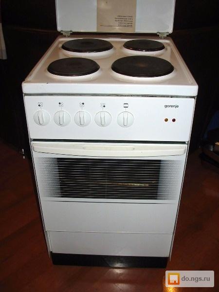 электрическая плита горение инструкция духовка