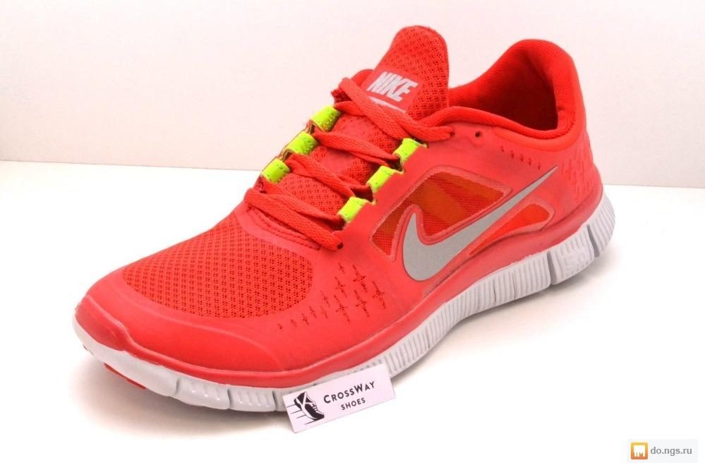 aa52a2c9 Беговые мужские кроссовки Nike Free Run, красного цвета фото, Цена ...