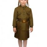 Военная форма ВОВ для девочки, Новосибирск