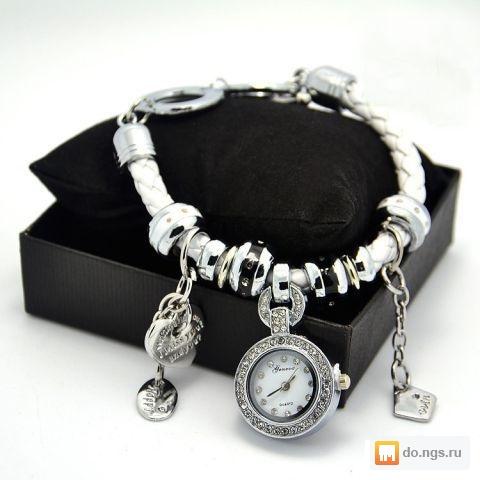новые часы браслет Pandora пандора в подарочной коробке фото цена
