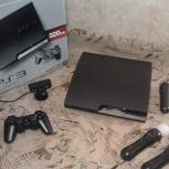 Приставка Sony PlayStation 3 Slim 500gb с дисками, Новосибирск