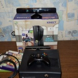 Xbox 360 с кинектом, Новосибирск