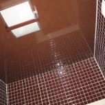 Натяжной потолок в ванной до 5 м.кв. (шт.), Новосибирск