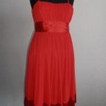 Красное вечерние платье размер 44, новое, Новосибирск
