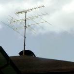 Ремонт, установка ТV-антенн. Эфирных, спутниковых, Новосибирск