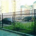 Заборы. Ограждения. Металлические заборы. Ворота из профнастила, Новосибирск