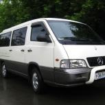 Аренда микроавтобуса Mercedes SsangYong Istana, Новосибирск