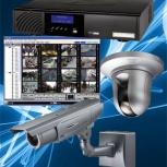 Охранные сигнализации. Видеонаблюление с живым просмотром.Усиление GSM, Новосибирск