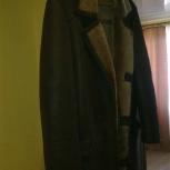 Продам мужскую натуральную дубленку 46-48 размер, Новосибирск
