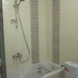 укладка кафеля в ванных санузлов, Новосибирск