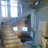 Строительство монолитных бетонных лестниц, Новосибирск