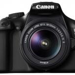 Продам зеркальный фотоаппарат Canon 1100D, Новосибирск