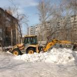 Аренда экскаватора погрузчика, Новосибирск