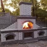 Кладка каминов,дачных печей,мангалов, ремонт печей, Новосибирск