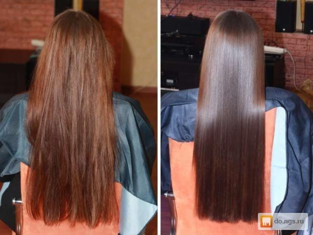 Ламинирование волос в новосибирске цена
