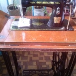 Швейная машина-раритет Китайская бабочка ножная, б/у, рабочая, Новосибирск