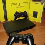 Приставка Sony PlayStation 2 Slim, Новосибирск