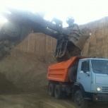 Камаз-самосвал. Услуги. Доставка сыпучих: песка, щебня и др., Новосибирск