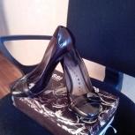 Женские туфли,38 размер, надеты 2 раза, Новосибирск