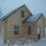 Любите греться в бане? Закажите мы построим вам баню из зимнего бревна, Новосибирск