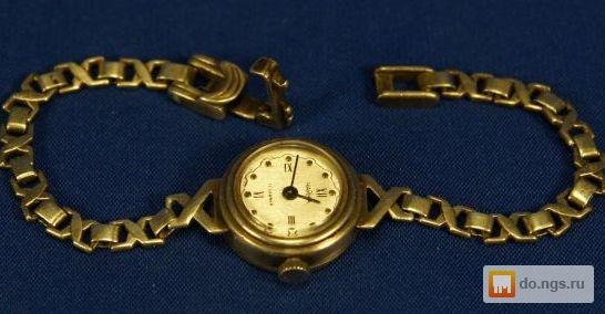 Золотые часы чайка ссср продам