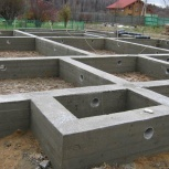 Фундамент, бетонные работы, монтаж блоков фбс, перекрытия, Новосибирск