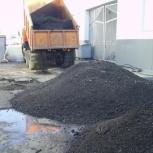 Отсыпка площадок, засыпаем стоящую воду Щебень, гравий, отсев, и тд, Новосибирск