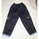 Продам брюки осенние на мальчика (полиэстер с подкладом), р-р 8, Новосибирск