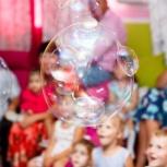 """Шоу мыльных пузырей """"Мыльное чудодейство"""", Новосибирск"""