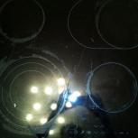 Продам стеклокерамическую встраиваемую плиту AEG, разбита поверхность, Новосибирск