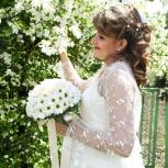 Продам красивое свадебное/вечернее платье для беременных, Новосибирск