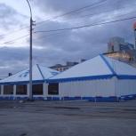Изготовление шатров для летних кафе, Новосибирск