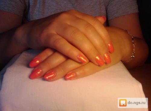 Удлинение ногтей биогелем