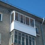 Все виды работ по остеклению и обшивке балконов и лоджий, Новосибирск