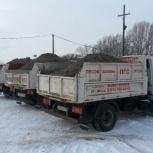 Щебень песок отсев ПГС керамзит с доставкой в Новосибирске и области, Новосибирск