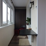 Отделка балконов и лоджий , Отделка евровагонкой, отделка сайдингом, Новосибирск