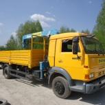 Услуги самогруза 5 тонн стрела 3 тонны Лично!, Новосибирск