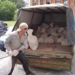 Вывоз строительного мусора, газель, Новосибирск